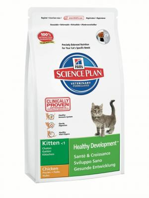 Сухой корм Hills Science Plan Healthy Development (Гармоничное развитие) для котят, курица, 10кг Hill's