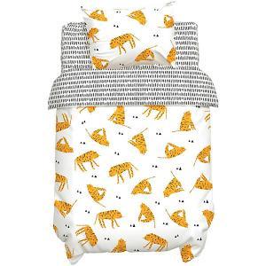 Комплект постельного белья  Тигры Крошка Я. Цвет: белый