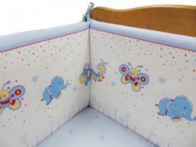 Комплект в кроватку  Ласковое лето (6 предметов) 20903 Soni Kids