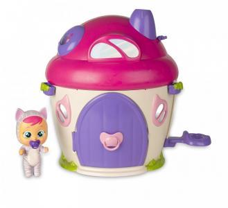 Crybabies Magic Tears Плачущий младенец Кэти с домиком и аксессуарами IMC toys