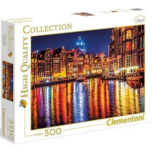 Пазл  Амстердам, 500 элементов Clementoni