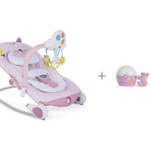 Кресло-качалка Balloon с игрушкой-проектором Next-2-Starts Chicco