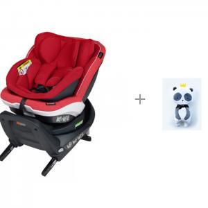 Автокресло  iZi Twist B i-Size и подушка для сна в автокресле Панда короне Клювонос BeSafe