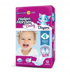 Подгузники  Baby Maxi (7-18 кг) 12 шт. Helen Harper