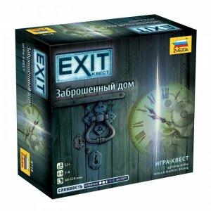 Настольная игра Exit Заброшенный дом Звезда