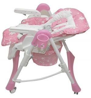 Стульчик для кормления  Nana, цвет: розовый Pituso