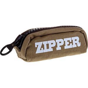 Пенал-косметичка  Zipper ArtSpace. Цвет: зеленый