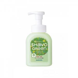 Shavo Green foam Soap Жидкое пенящееся мыло для рук 0.25 л Saraya