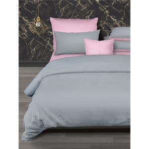 Комплект постельного белья  Rocher Active, 2-спальное Романтика. Цвет: серебряный