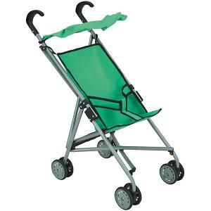 Коляска-трость для кукол Buggy Boom, зеленая Melobo. Цвет: зеленый