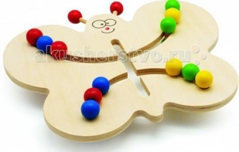Деревянная игрушка  Лабиринт-Бабочка Мир деревянных игрушек