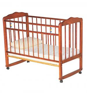 Кровать-качалка  Женечка-3, цвет: светлый ИП Смирнов
