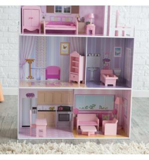 Кукольный домик из дерева  с мебелью Kids4kids
