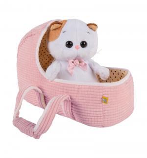 Мягкая игрушка  Ли Baby в люльке 20 см цвет: белый Budi Basa