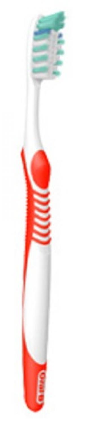 Зубная щетка  Advantage Plus, цвет: белый/красный Oral-B