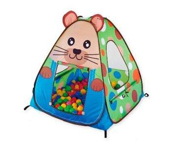 Дом-палатка + 100 шаров Сурок Calida