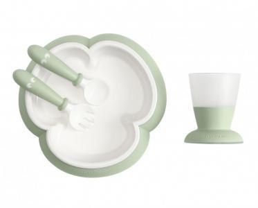 Набор для кормления (тарелка, кружка, ложка, вилка) BabyBjorn