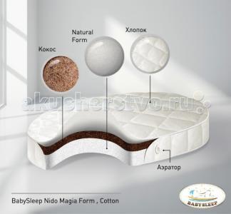 Матрас  Form Cotton 125x75 см Babysleep