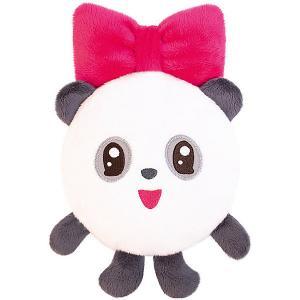 Игрушка-грелка  Малышарики: Пандочка с вишневыми косточками Мякиши. Цвет: черный/белый