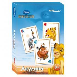 Развивающая игра  Disney Король Лев. Акулина Step Puzzle