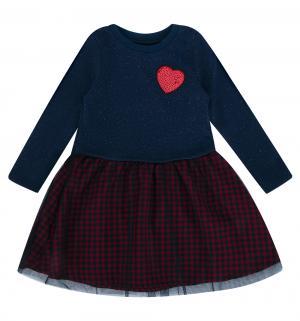 Платье , цвет: синий/красный Bembi