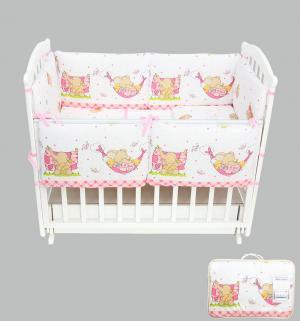 Комплект постельного белья  Мой слоник, цвет: розовый Leader Kids