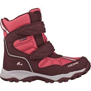 Ботинки Viking Bluster II GTX. Цвет: бордовый