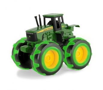 Трактор John Deere Monster Treads с большими колесами подсветкой Tomy