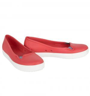 Туфли , цвет: красный Crocs