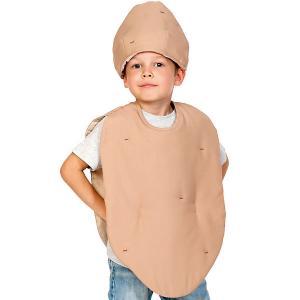 Карнавальный костюм  Картофель,98-128 Карнавалофф. Цвет: разноцветный