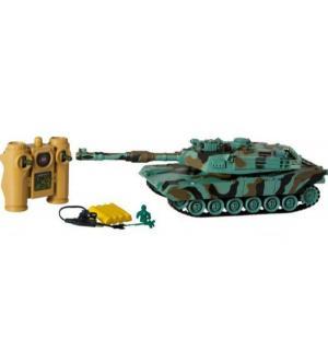 Радиоуправляемый танк  Abrams М1А2 (США) 1 : 32 Пламенный мотор