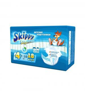 Подгузники  для детей Super Econom р. 4 (7-18 кг) 18 шт. Skippy