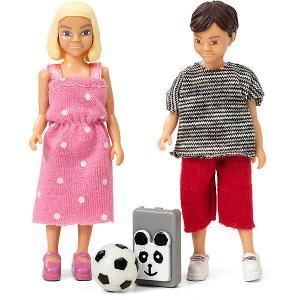 Набор кукол для домика  Школьники Lundby. Цвет: разноцветный