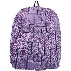 Рюкзак  Blok Half Purple Reign, сиреневый MadPax. Цвет: сиреневый