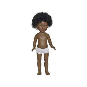 Классическая кукла  Паулина, Африканка, нюд Vestida de Azul. Цвет: разноцветный