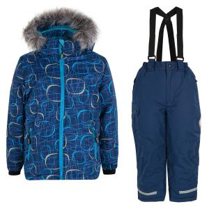 Комплект куртка/брюки  Aron, цвет: синий Kuutti