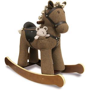 Лошадка-качалка  Честер Little Bird Told Me. Цвет: коричневый