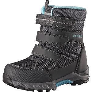Утепленные ботинки LASSIE Boulder tec. Цвет: серый