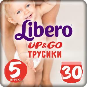 Трусики-подгузники  Up & Go, р. 5, 10-14 кг, 30 шт Libero