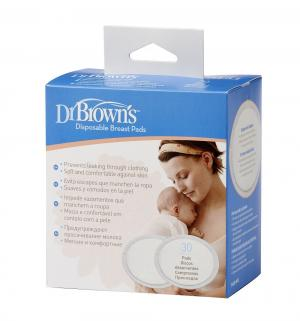 Прокладки для бюстгальтера впитывающие одноразовые Dr.Browns, 30 шт Dr.Brown's