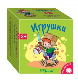 Развивающая игра  «Книжка+Игра» Игрушки Step Puzzle