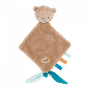 Мягкая игрушка  Doudou малая Mia & Basile Мишка Nattou