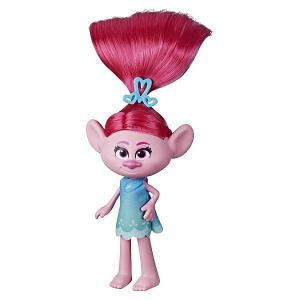 Кукла Trolls World Tour Модный тролль Розочка Hasbro. Цвет: разноцветный