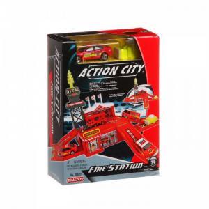 Игровой набор Пожарная станция 1 машина 28520 RealToy
