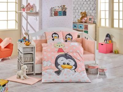 Комплект в кроватку  Penguin 100х150 см (10 предметов) Hobby Home Collection