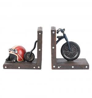 Набор держателей для книг Ретро велосипед Miolla