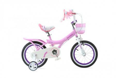 Велосипед двухколесный  Bunny Girl Steel 18 Royal Baby