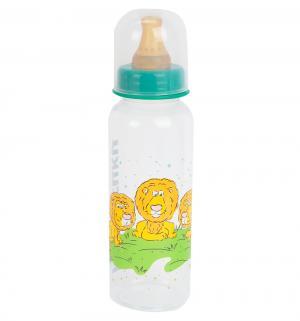 Бутылочка  Мои любимые птички полипропилен с рождения, 250 мл, цвет: зеленый Курносики