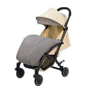 Коляска прогулочная Babyhit Allure бежевая с серым, тёмная рама Baby Hit. Цвет: beige/grau