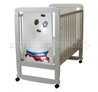 Детская кроватка  02 Триколор 3D Соня